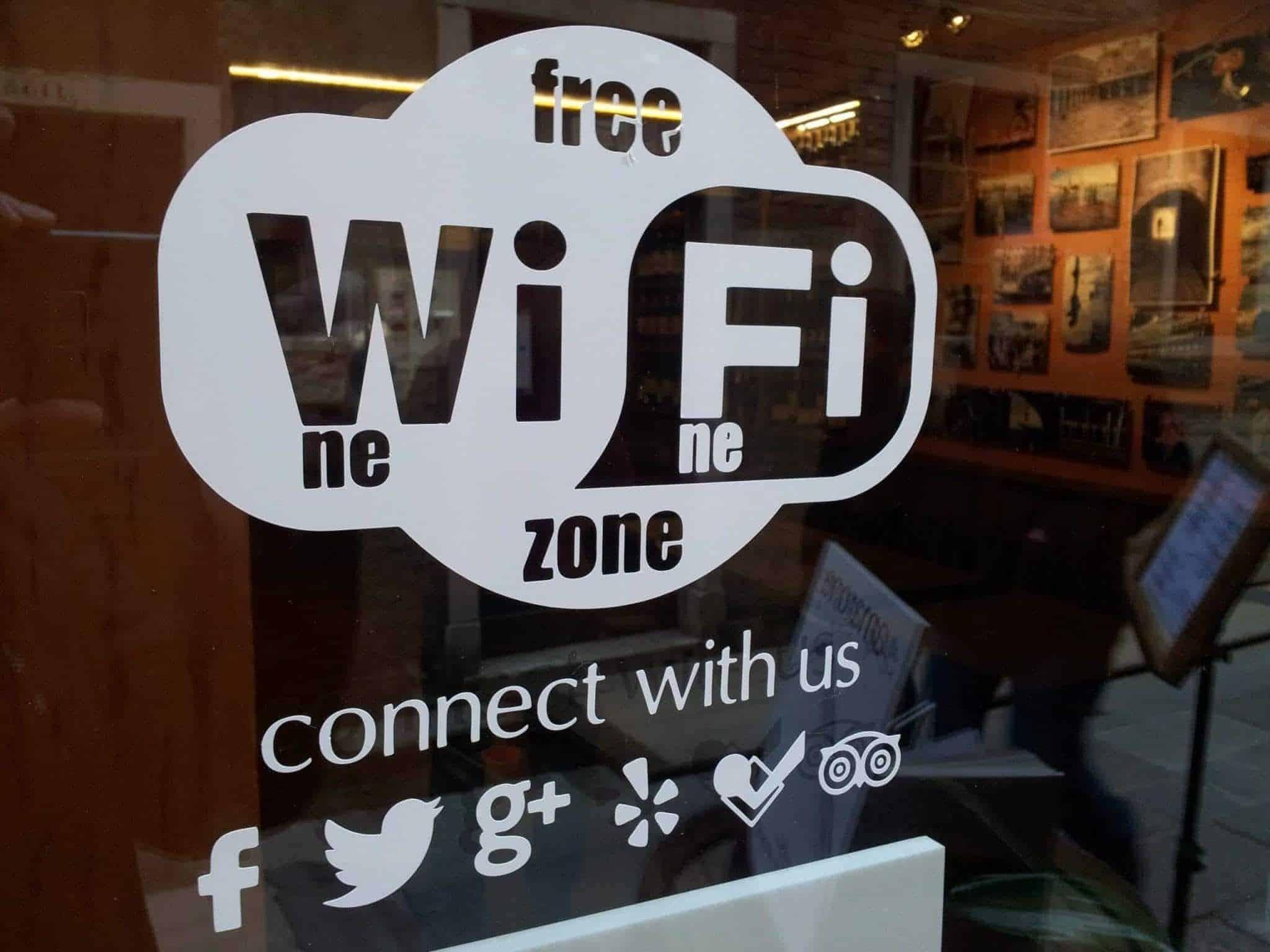Free Wifi at Vineria all'Amarone in Venice
