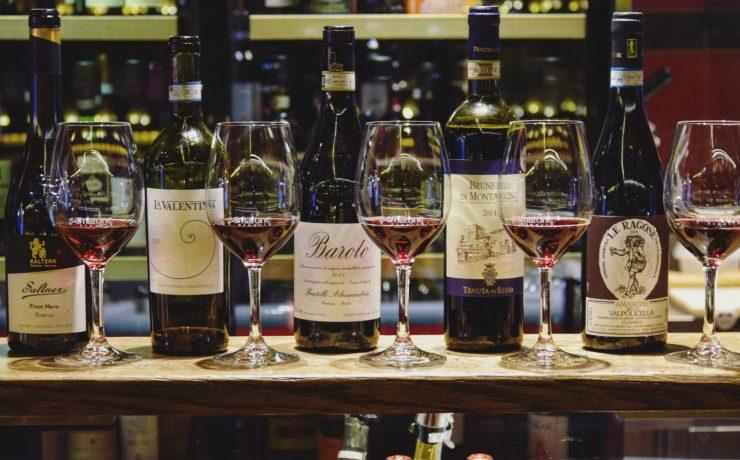 Wine Tasting Italian Regions