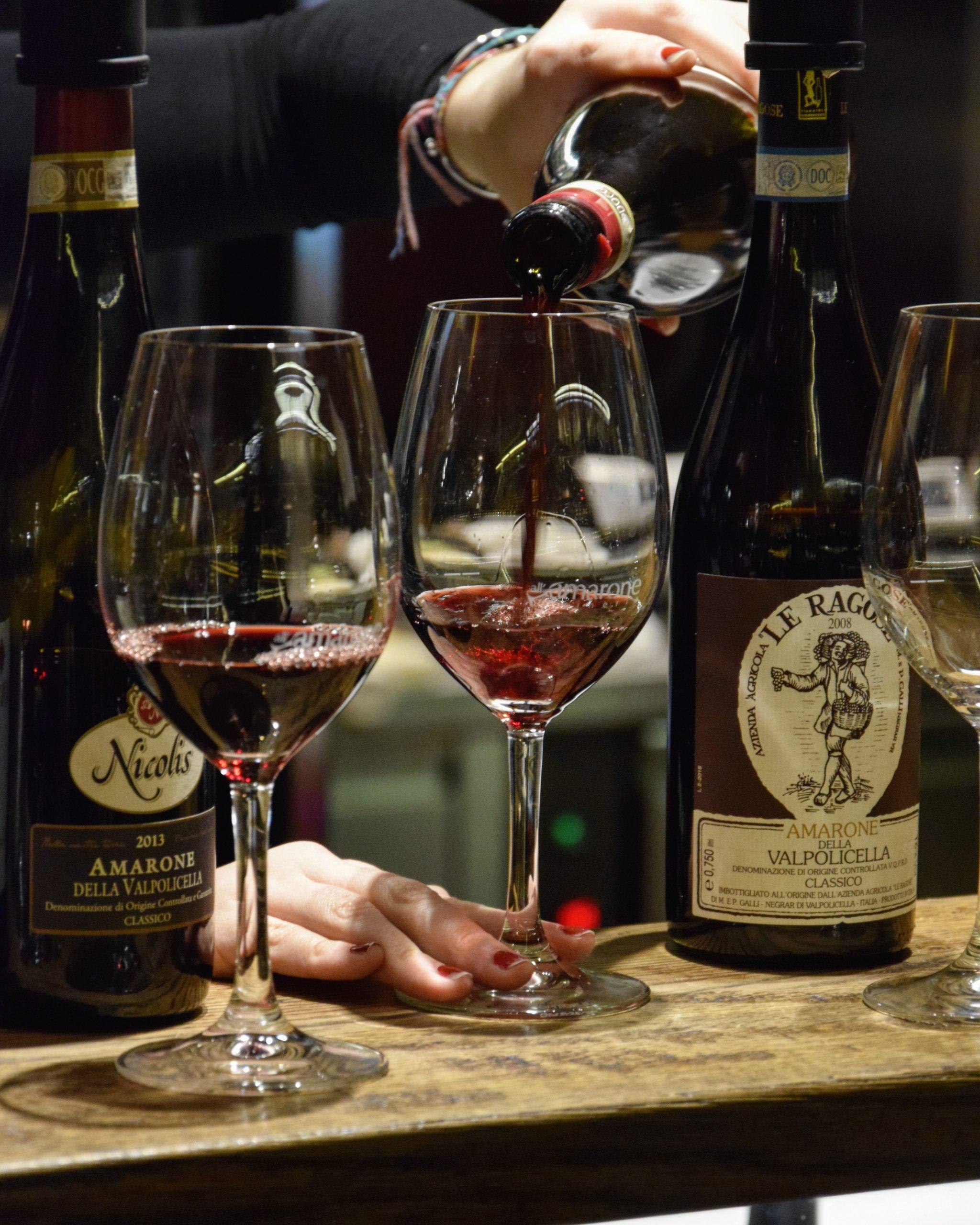 Amarone Wine Tasting in Venice