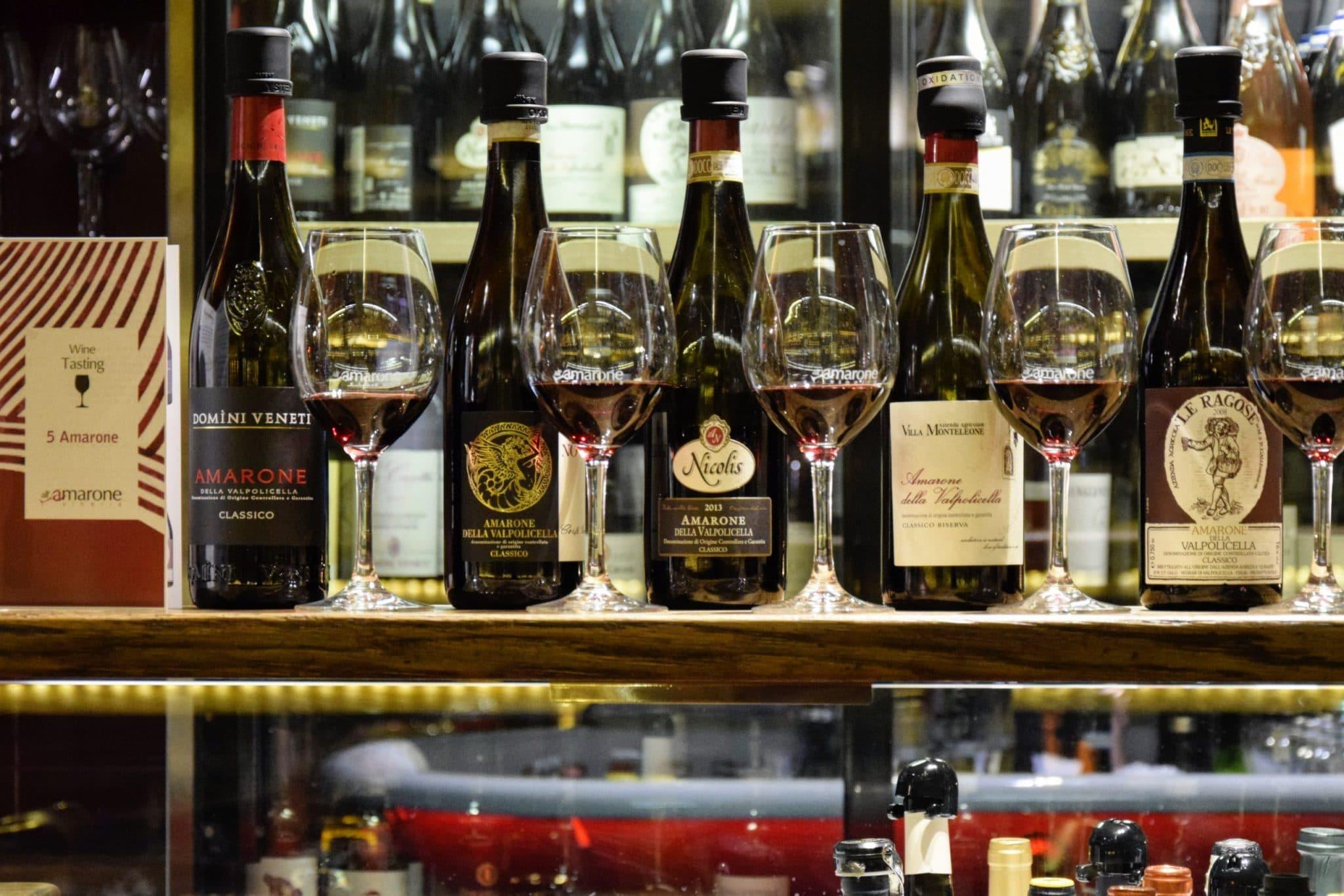 Amarone Wine Tasting
