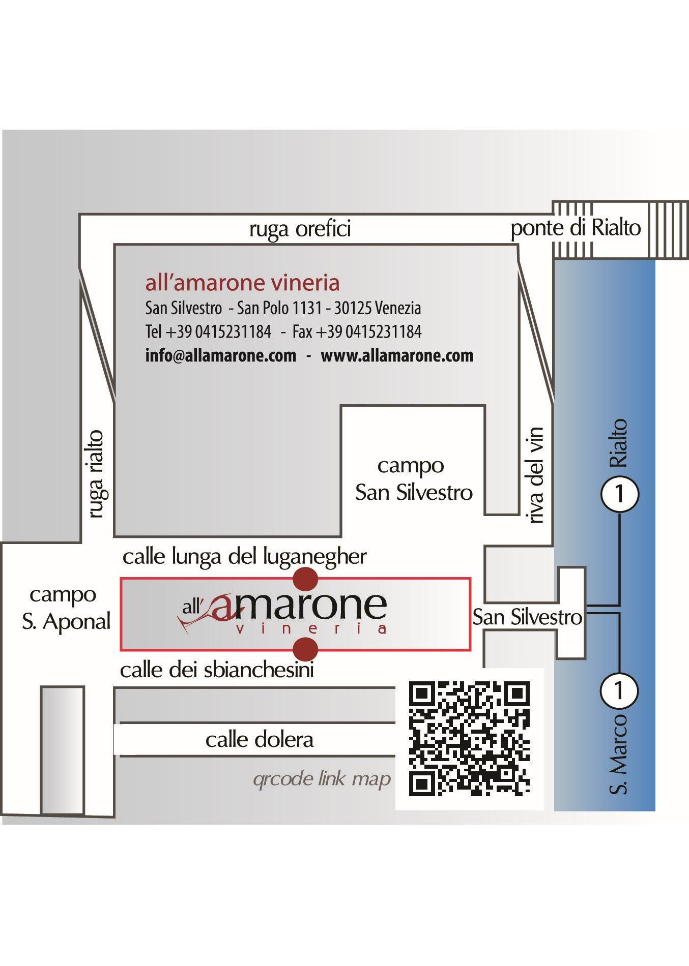 Vineria all'Amarone Location Map