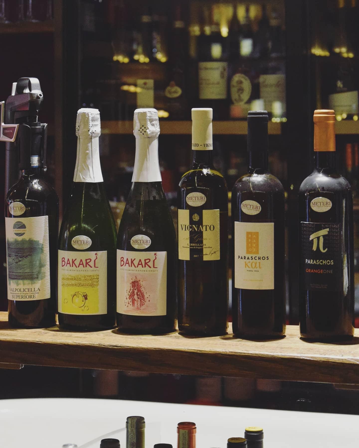 Vini Naturali da degustare a Vineria all'Amarone Venezia