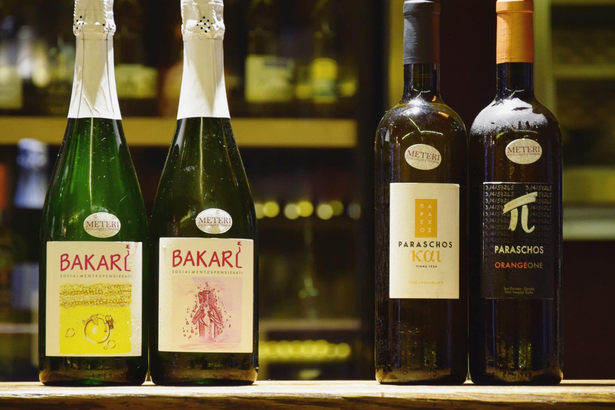 Vini Naturali a Vineria all'Amarone Venezia