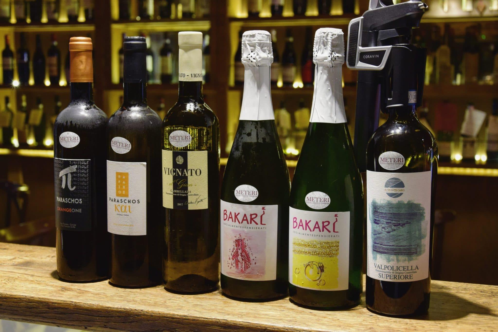 Vini Naturali a Vineria all'Amarone