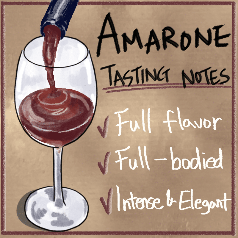 Tasting Notes of Amarone Wine
