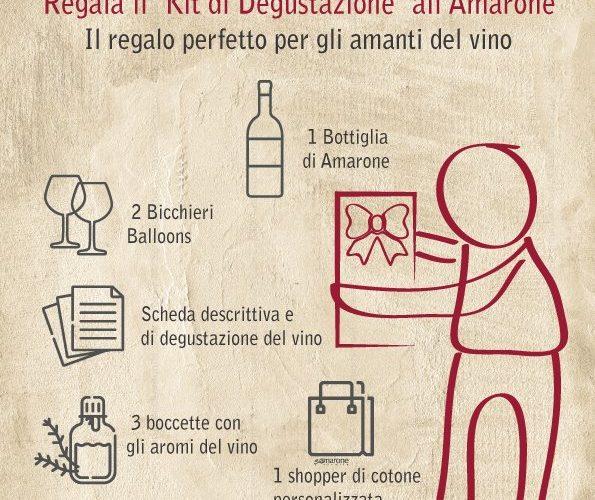Kit di Degustazione Vino all'Amarone